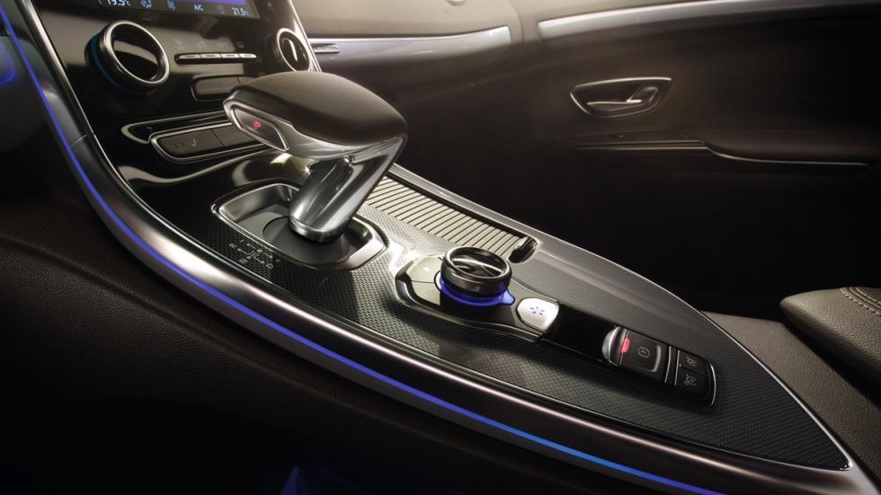 Renault Espace 2015 detalle del cambio automático