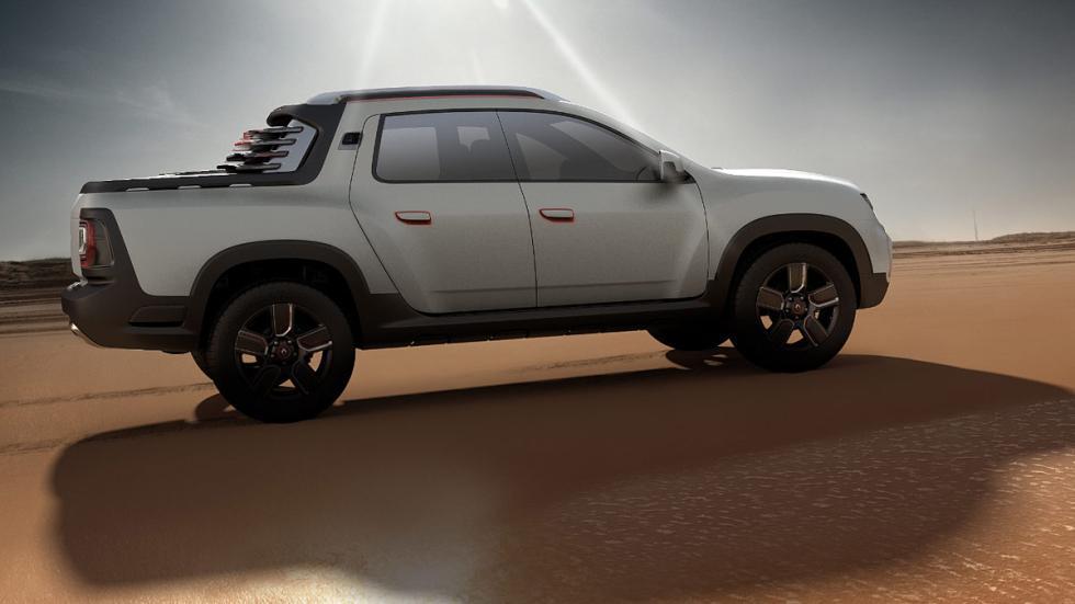 Dacia Duster Oroch lateral