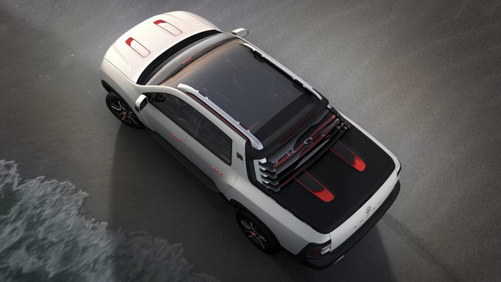 Dacia Duster Oroch cabina