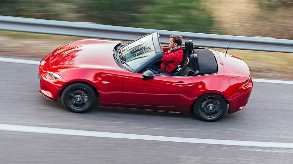 Nuevo Mazda MX-5 cenital