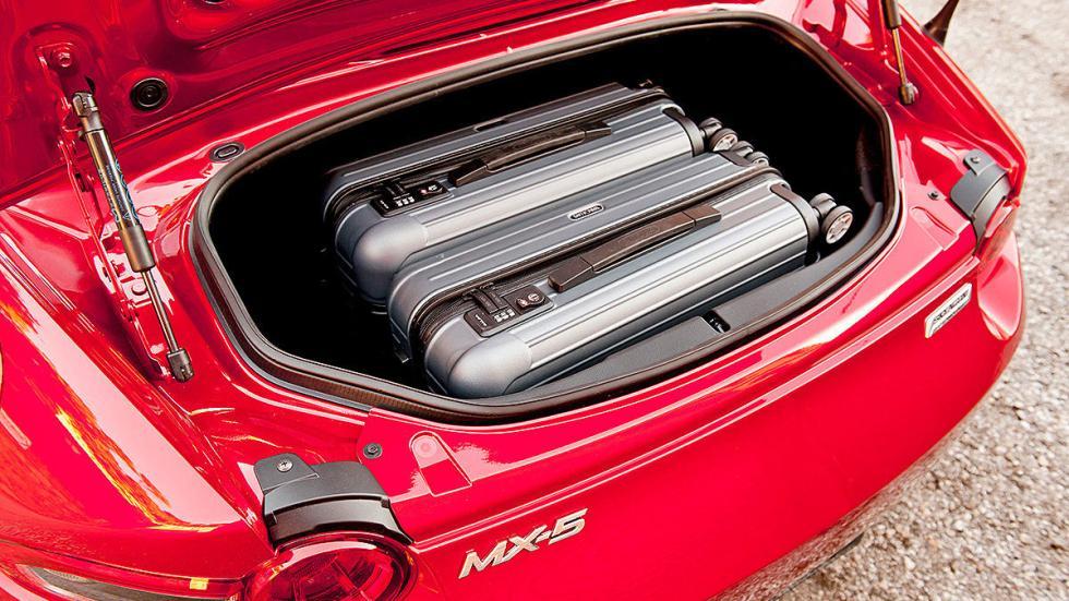 Nuevo Mazda MX-5 maletero