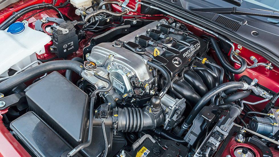 Nuevo Mazda MX-5 motor