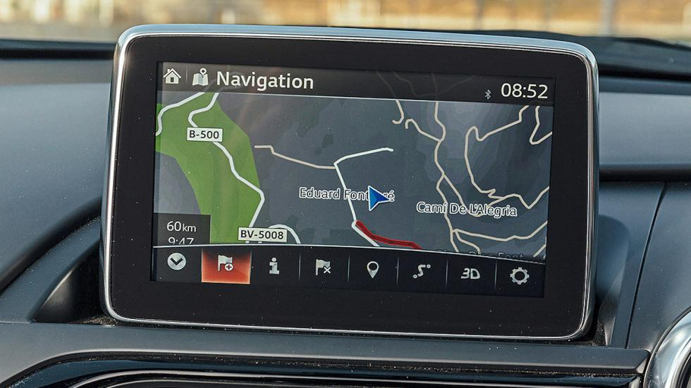 Nuevo Mazda MX-5 pantalla