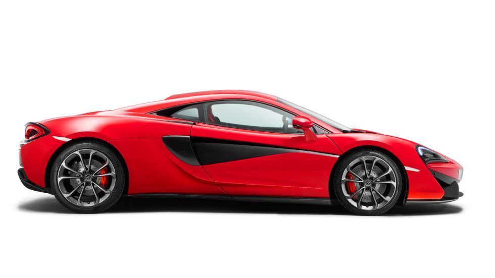 McLaren 540C lateral