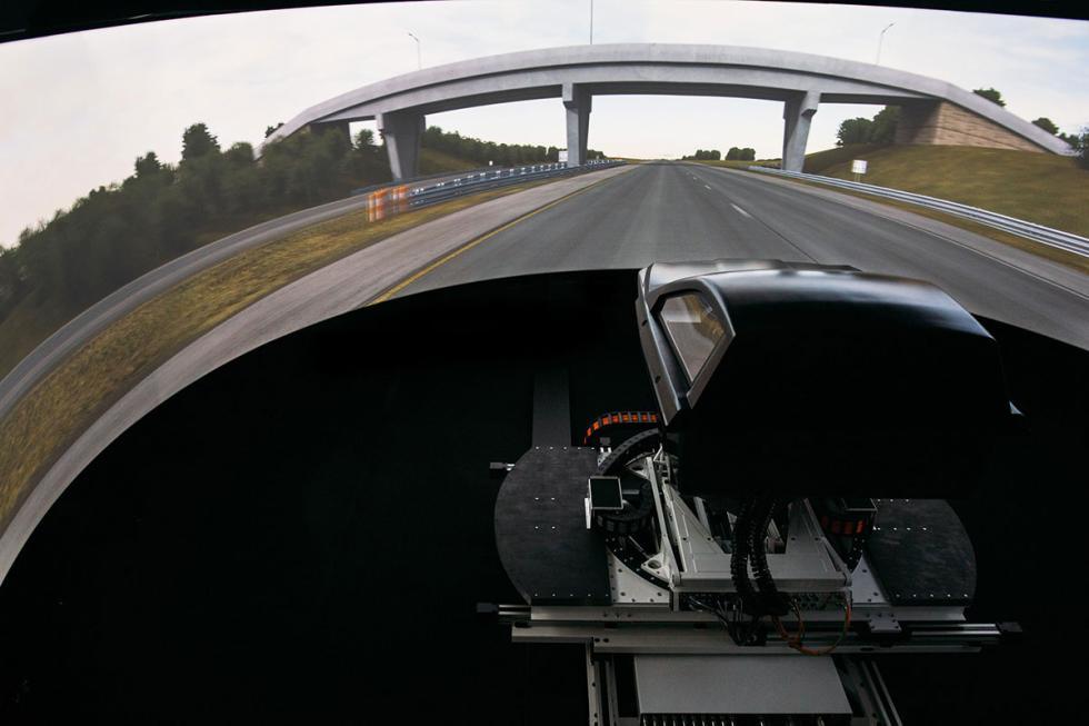 Simulador de la serie Delta de Ansible Motion