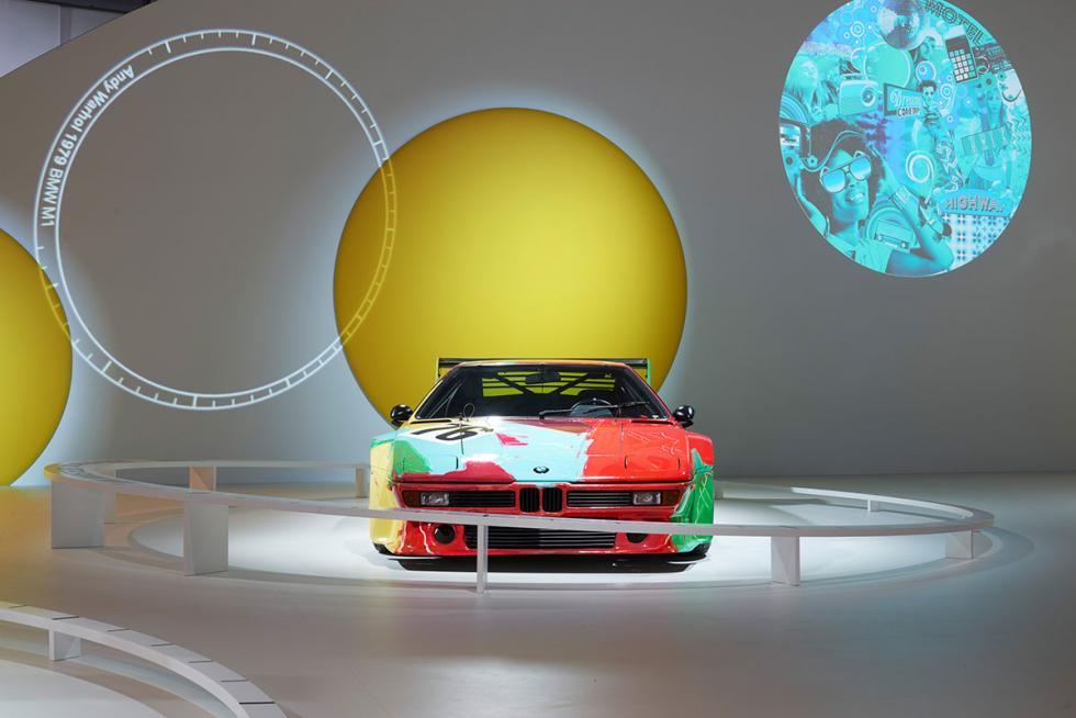 BMW M1 por Andy Warhol.