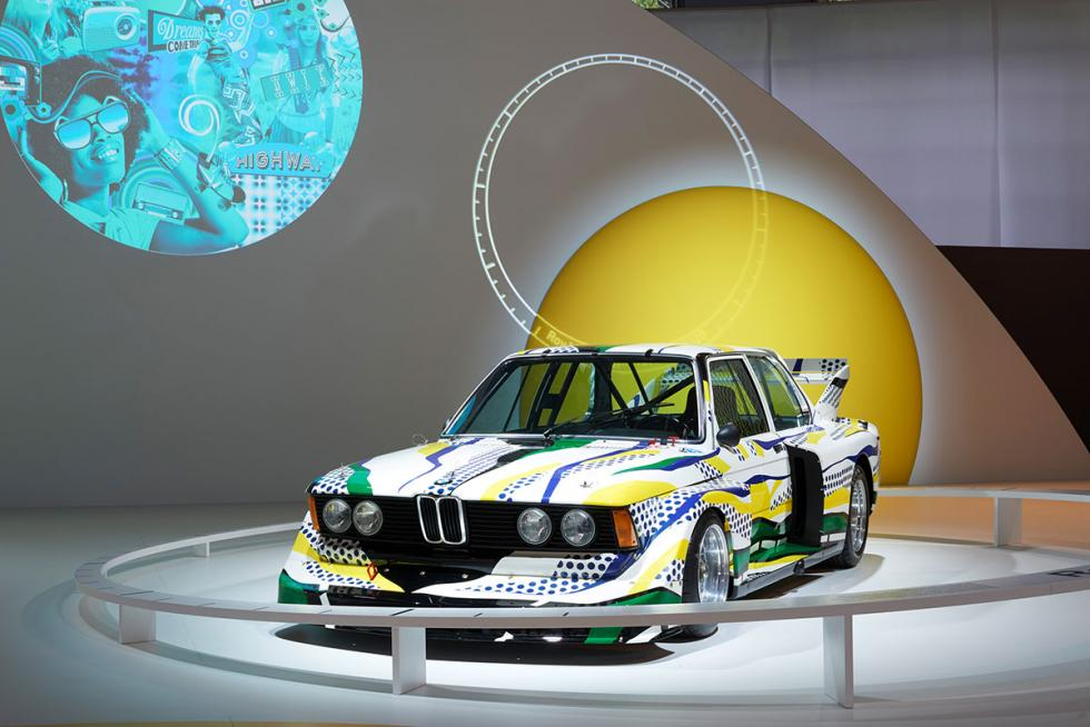 BMW Art Car por Sandro Chia