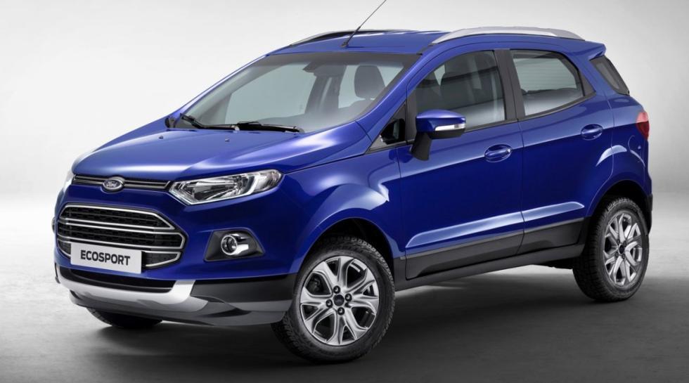 Ford Ecosport delantera