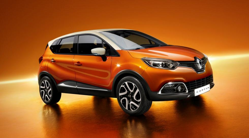 Renault Captur delantera