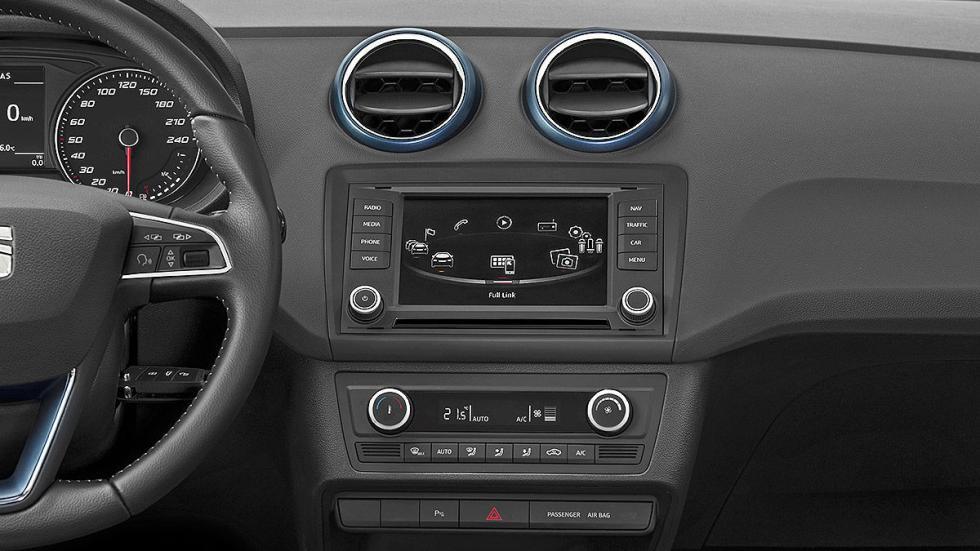 Prueba de Seat Ibiza 2015 estática consola
