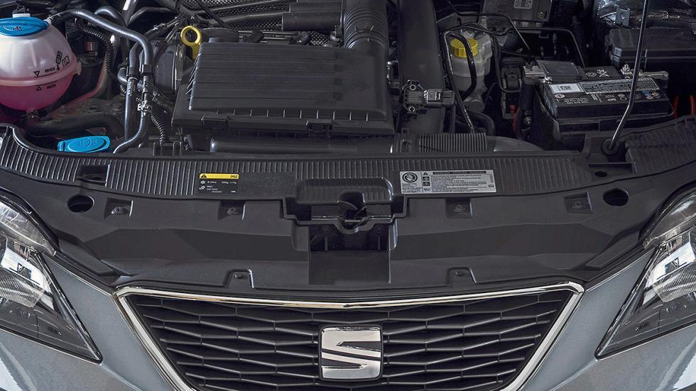 Prueba de Seat Ibiza 2015 estática motor