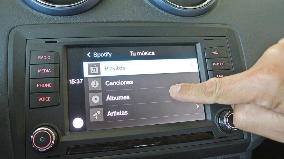 Prueba de Seat Ibiza 2015 estática táctil