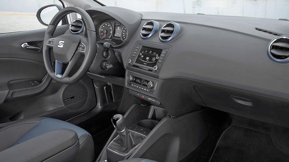 Prueba de Seat Ibiza 2015 estática interior