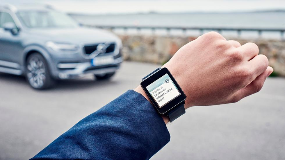 Volvo on Car en reloj Android