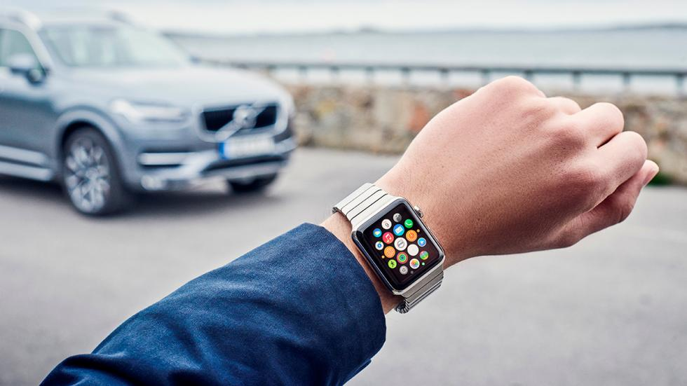 Volvo On Car en Apple Watch