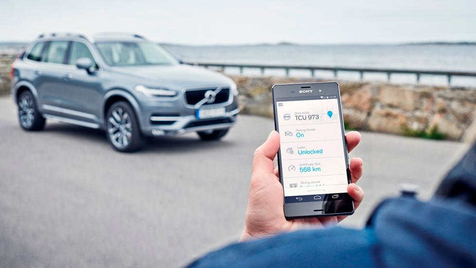 Volvo On Car en teléfono Android