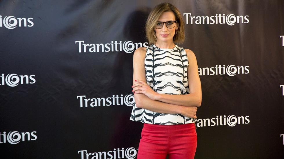 Nieves Álvarez con los nuevos colores de Transitions XTRActive