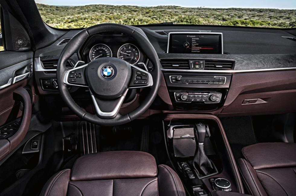 BMW X1 2016 salpicadero