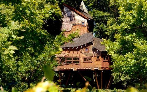 Restaurante The Treehouse, en Alnwick.
