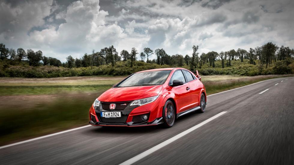 Honda Civic type r delantera