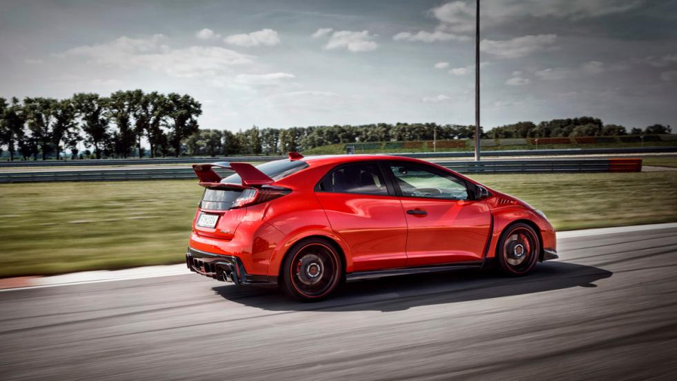 Honda Civic type r lateral