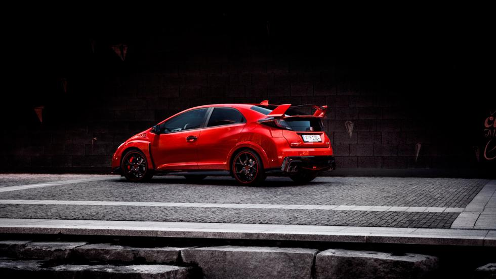 Honda Civic type r trasera