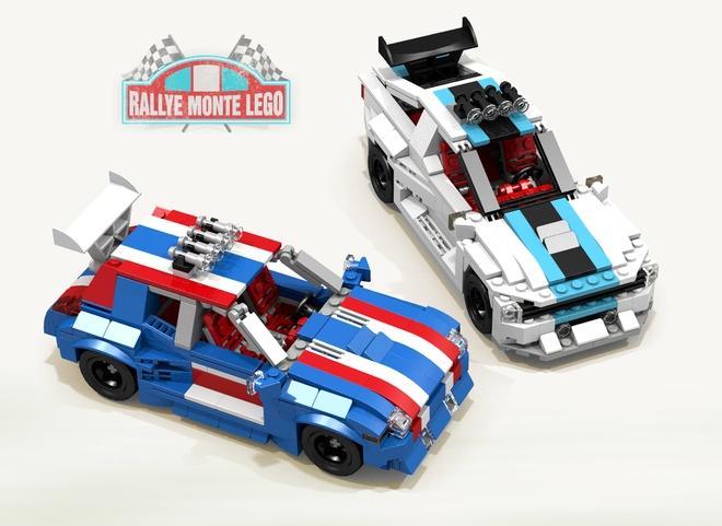 Rally Monte Lego