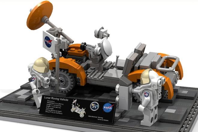 Lunar Rover lego