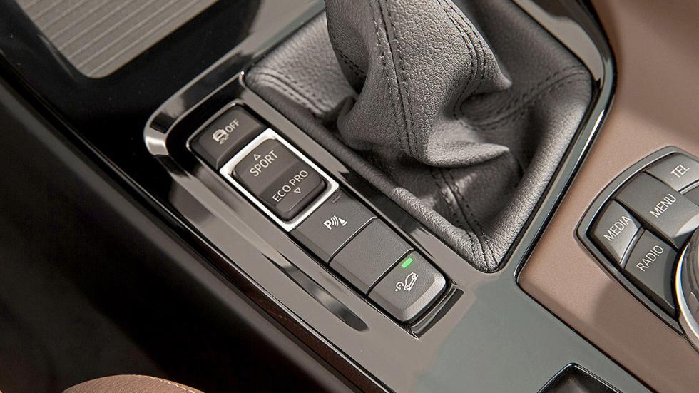BMW X1 2016 botones