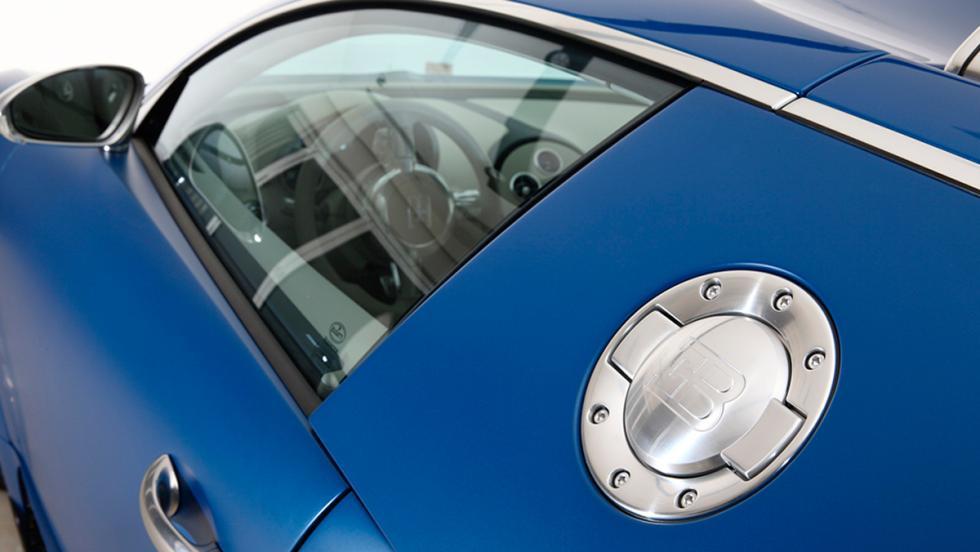 Bugatti Veyron Bleu Centenaire detalle