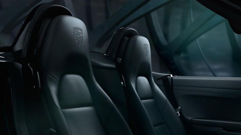 Porsche Black Edition asientos