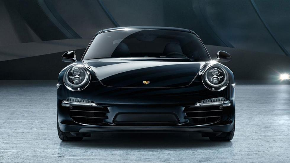 Porsche Black Edition frontal