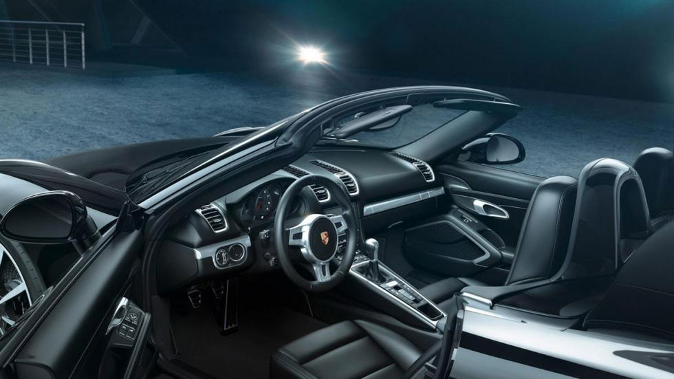 Porsche Black Edition interior