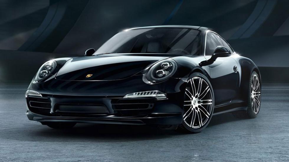 Porsche Black Edition morro