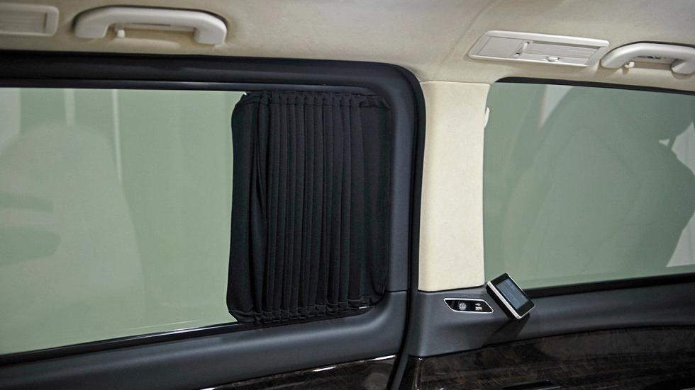 La Mercedes Vito de Brabus cortinas