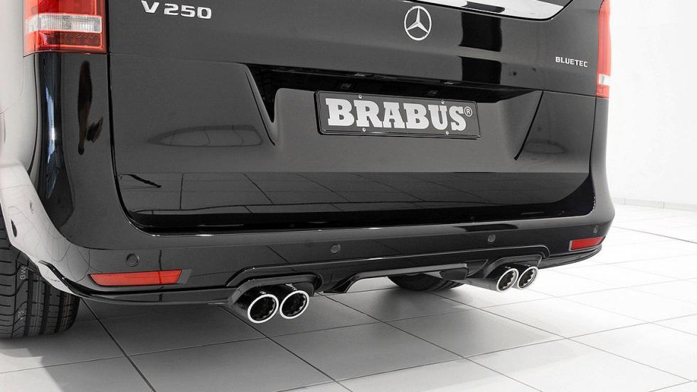 La Mercedes Vito de Brabus zaga