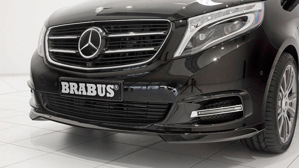 La Mercedes Vito de Brabus morro