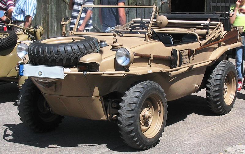 VW Type 166 o Schwimmwagens.
