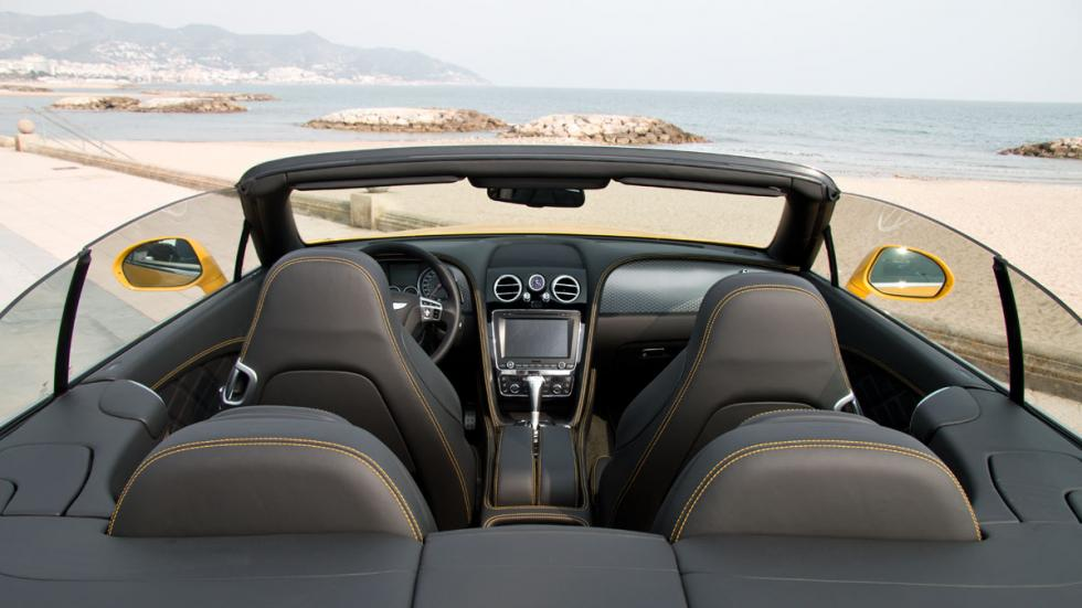 Bentley Continental GTC Speed 2015 habitaculo