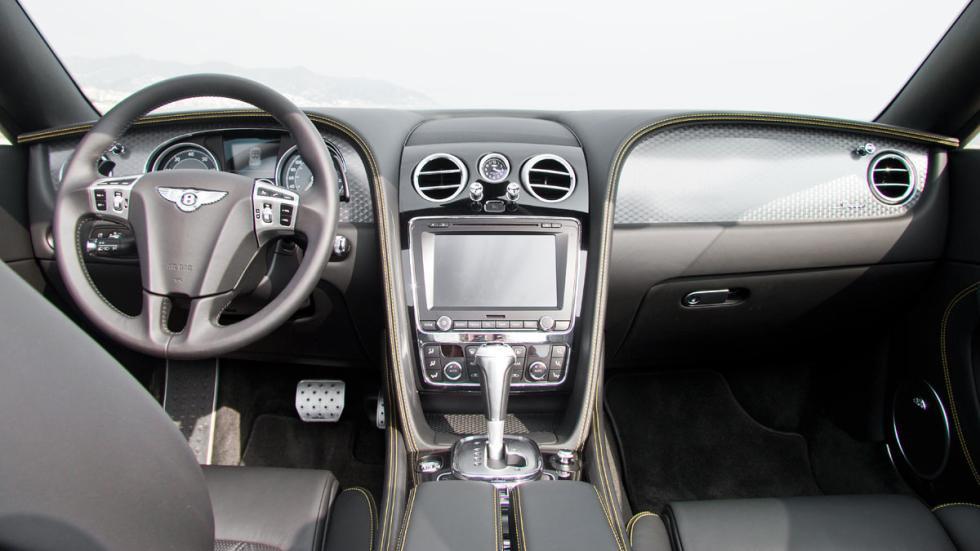 Bentley Continental GTC Speed 2015 interior