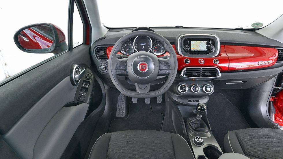 Fiat 500 X interior