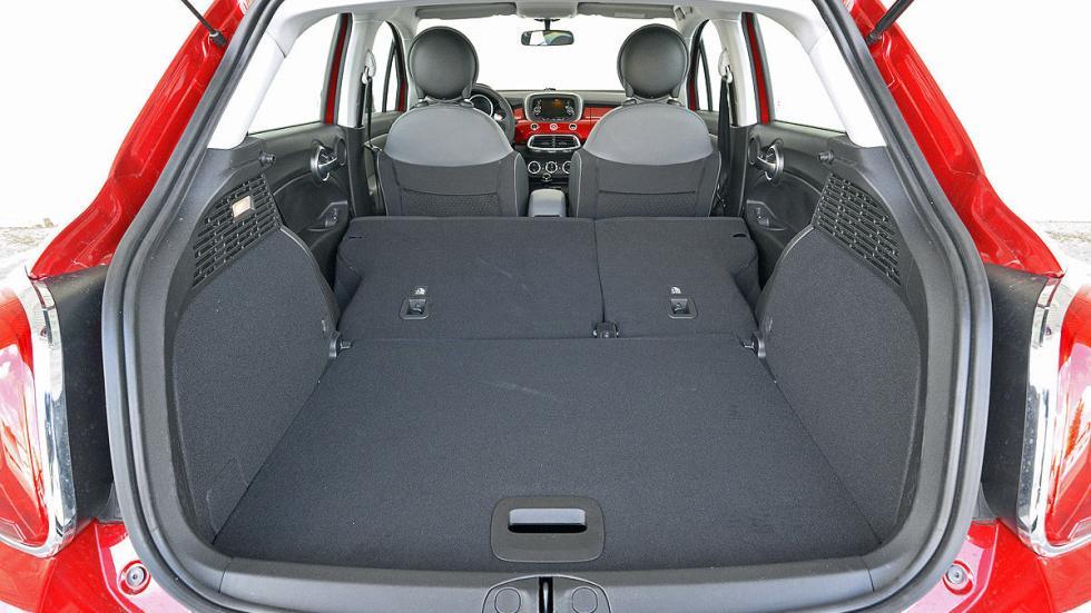 Fiat 500 X interior maletero