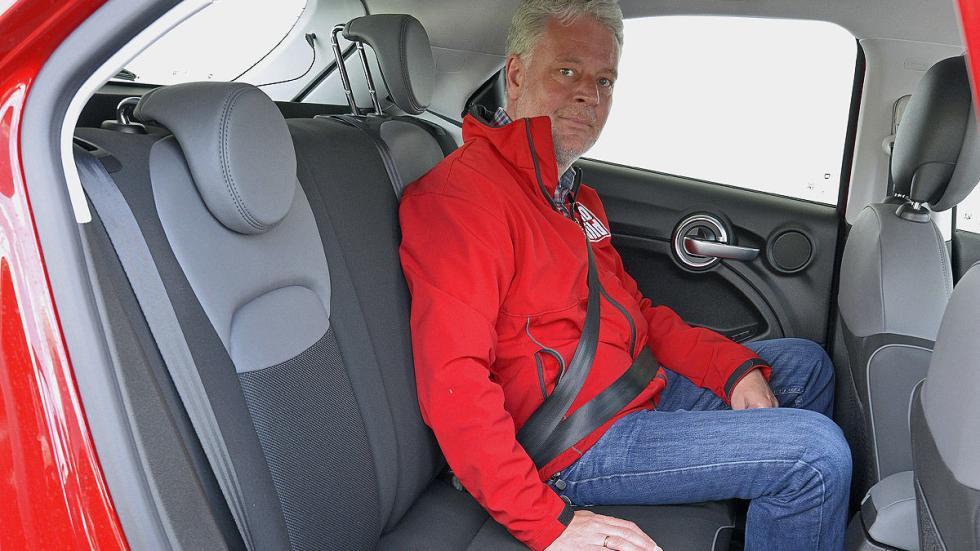 Fiat 500 X zaga traseras