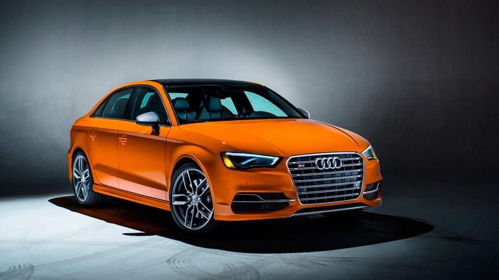 Audi S3 Exclusive Edition naranja
