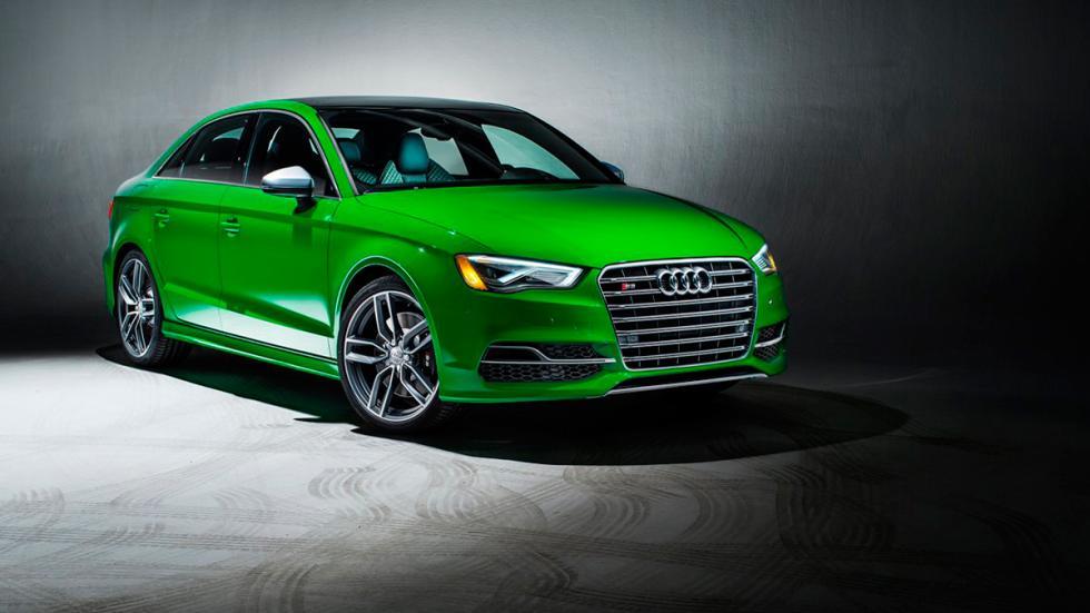 Audi S3 Exclusive Edition verde