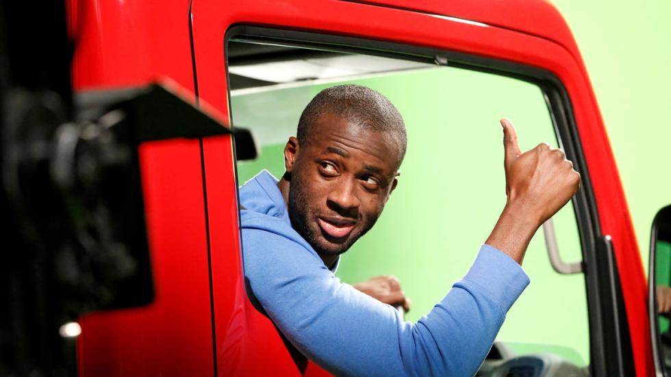 Touré Yaya anuncio Truckerball 5