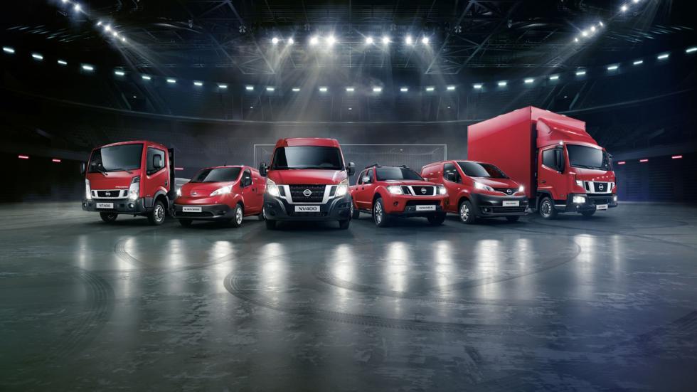 Comerciales Nissan