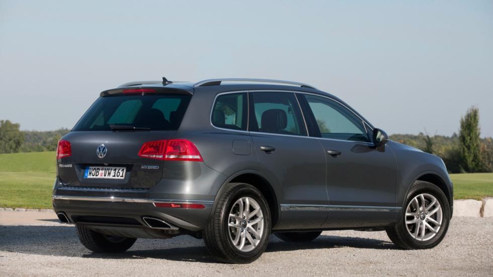 VW Tourareg tres cuartos trasero