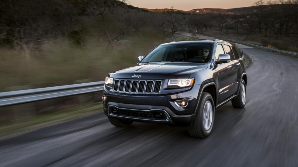 Jeep Grand Cherokee delantera