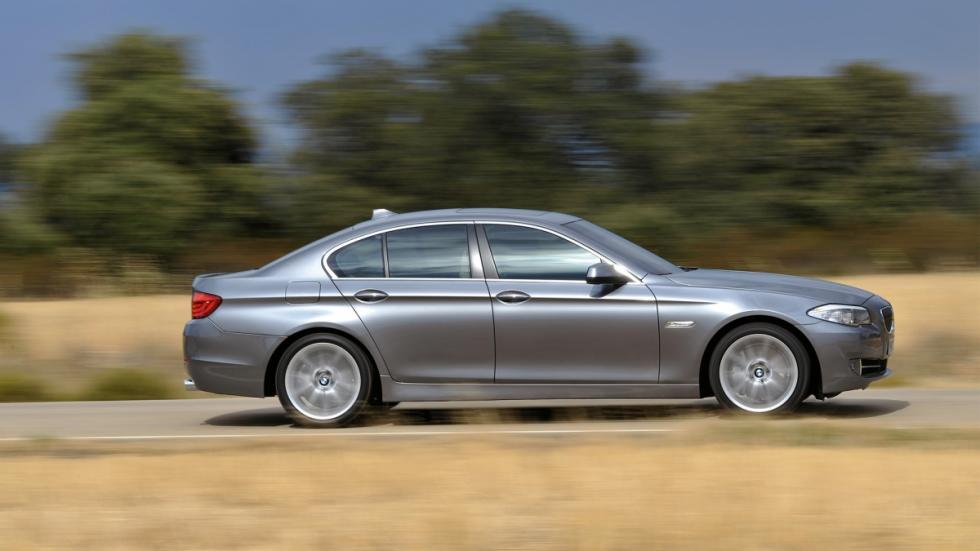 BMW 535i lateral